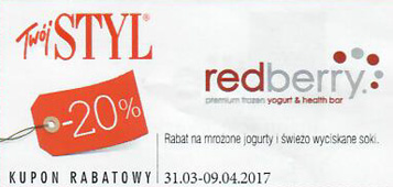 Redberry Kod Rabatowy